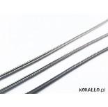 Zdjęcie - Srebrny łańcuch żmijka 0,9mm, Ag925