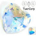 Zdjęcie - Swarovski heart 40mm crystal AB
