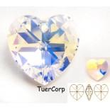 Zdjęcie - Swarovski heart 28mm crystal AB
