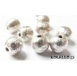 Zdjęcie - Kulki srebrne satynowe, próba Ag925 5mm