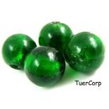 Zdjęcie - Szkło weneckie kulka zielona 18mm