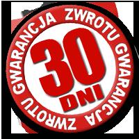Dajemy Ci 30-dniową gwarancję zwrotu zakupionego towaru!
