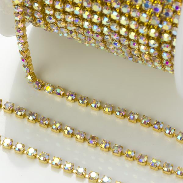 Cudowna Taśma z kryształkami - do czego ją wykorzystać? : Koraliki i PK32
